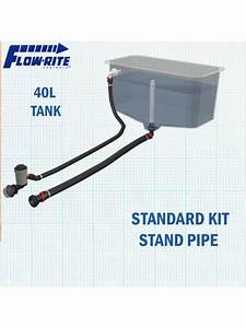 Marine Warehouse Flowrite Livewell 40l Tank W   Standpipe
