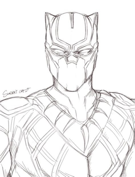 Best Black Panther Marvel Coloring Pages Ideas And Images On Bing