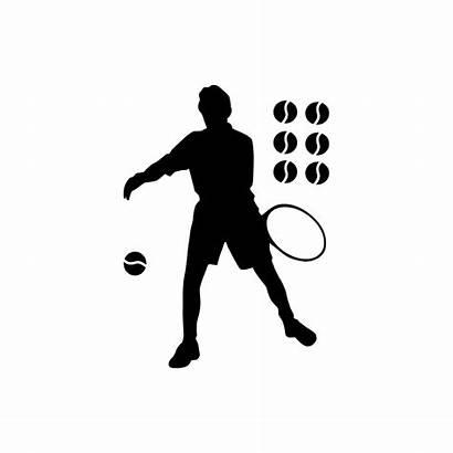 Tennis Joueur Sticker Murs