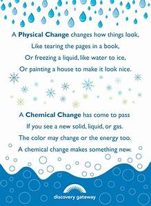 Physical and Chemical Reaction Poem   Math & Science ...