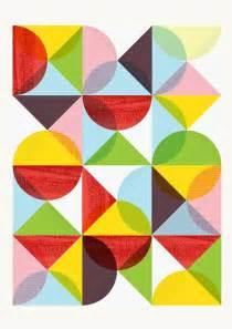 Mid Century Modern Geometric Art Prints