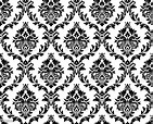 Vector Seamless Damask Pattern Stock Illustration ...