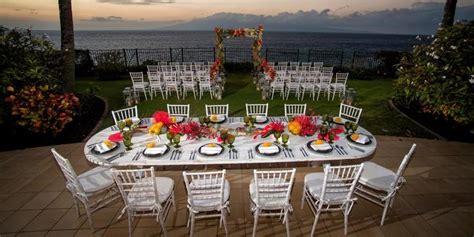 sheraton maui resort spa weddings  prices