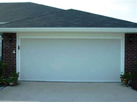 retractable garage door screen garage door screens 183 nashville retractable screens
