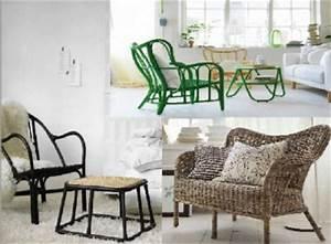 Ikea Fauteuil Rotin : fauteuils table basse et canap en rotin capsule ikea ~ Teatrodelosmanantiales.com Idées de Décoration