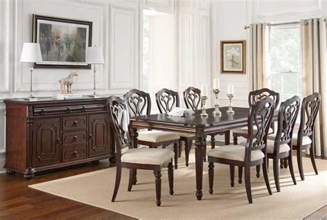 steve silver  piece  dining room set