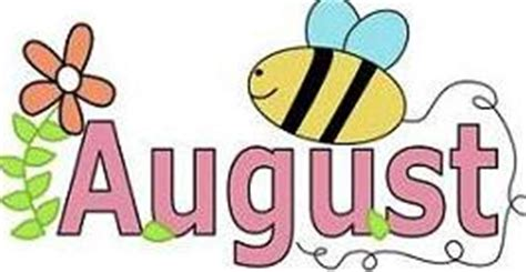 Free August Clipart