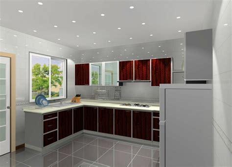 Distribucion En L, Ideas De Lujo Para Cocinas Prácticas Red Black And White Kitchens Simple Country Kitchen Portable Storage Modern Miami Modular Accessories Price List On A Budget High Table With