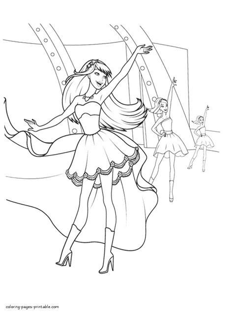 print barbie princess coloring pages coloring pages barbie princess az coloring pages