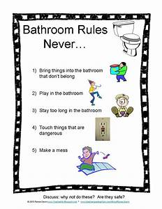 bathroom rules photos student centered resources and With bathroom signs for classroom