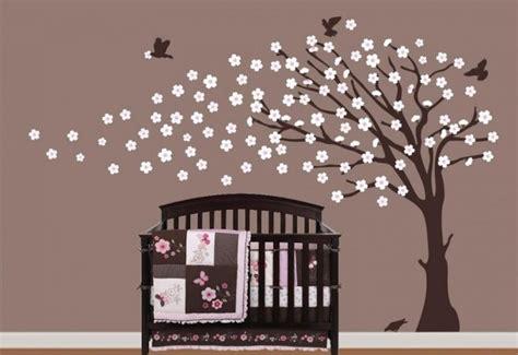 decoration murale bebe chambre deco chambre bebe arbre visuel 8