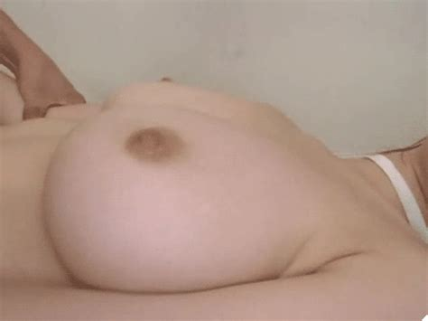 Big Natural White Boobs With Tiny Nipples Are Jiggling
