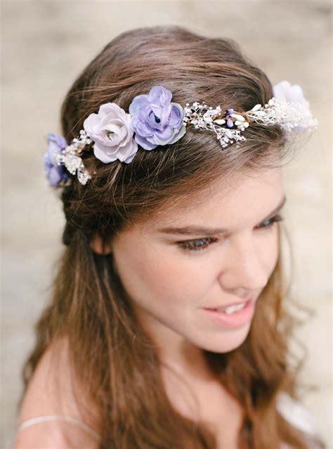 Couronne De Fleurs Cheveux Couronnes De Fleurs Pour Cheveux Mariage Boh 232 Me