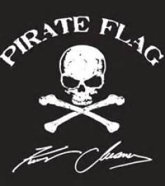 kenny chesney pirate flag flies brad paisley s super