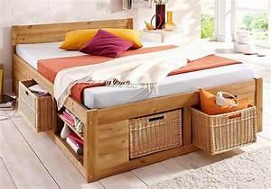 Cadre De Lit Avec Rangement : lit haut avec rangement maison design ~ Teatrodelosmanantiales.com Idées de Décoration