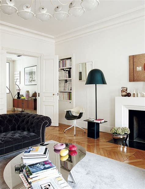 Chic Decor - decorating parisian style chic modern apartment by