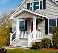 Small Porch On Pinterest Small Front Porches Door Canopy And Raised Ranch Exteriors I Feel Like You Could Adapt This And Get How To Update The Exterior Of Your Home On A Budget Exterior Paint Color Ideas For Ranch Style Homes Excellent With Images