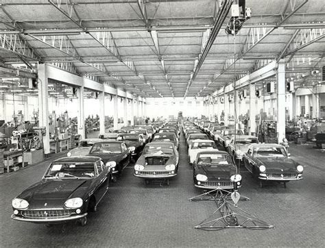 ferrari factory black and white ferrari factory evokes the spirit of enzo