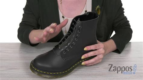 dr martens  pascal front zip sku  youtube