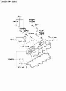 2674032804 - Hyundai Valve