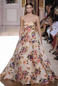 evening dress on pinterest oscar de la renta cocktail With floral wedding dresses