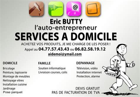 secretaire a domicile auto entrepreneur carte de visite butty services genest malifaux