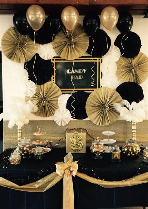 black gatsby theme latex balloons pack
