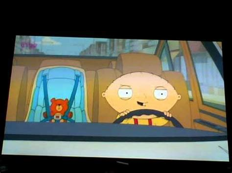 Stewie Crashes Brian S Car by Family Season 10 Clip Stewie Goes For A Drive In