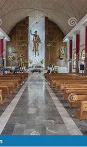 Interior Of The Parroquia De San Miguel Arcangel Pitillal ...