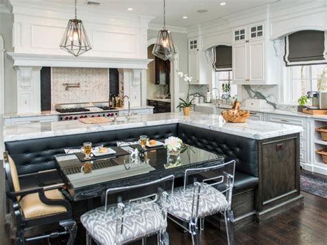 Island Booth Seating by 20 Stunning Kitchen Booths And Banquettes Hgtv