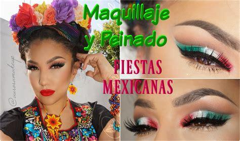 Maquillaje + Peinado Mexicano Fiesta Patria / Mexican