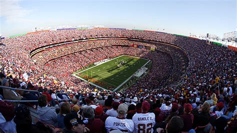 fedexfield seating chart pictures directions  history washington redskins espn