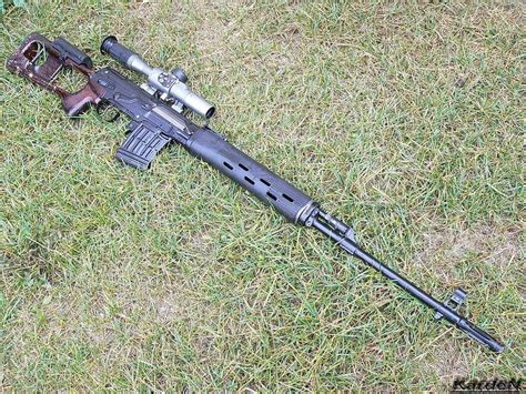 Dragunov Svd Sniper Rifle Caliber