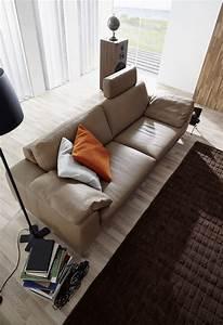 Canapé Design 3 Places : canap 3 places idyl design en cuir ~ Teatrodelosmanantiales.com Idées de Décoration