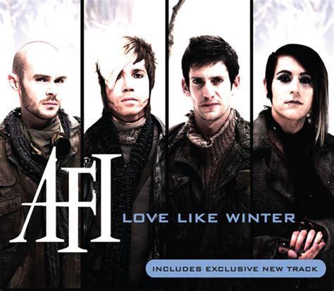 Afi  Love Like Winter Cd Single  Flickr  Photo Sharing