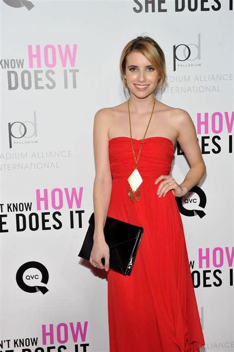 Emma Roberts Ponytail - Emma Roberts Looks - StyleBistro