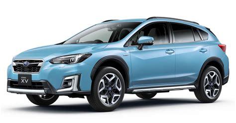 Subaru Xv Hybrid 2019 by 2019 Subaru Xv E Boxer Revealed For Japanese Market