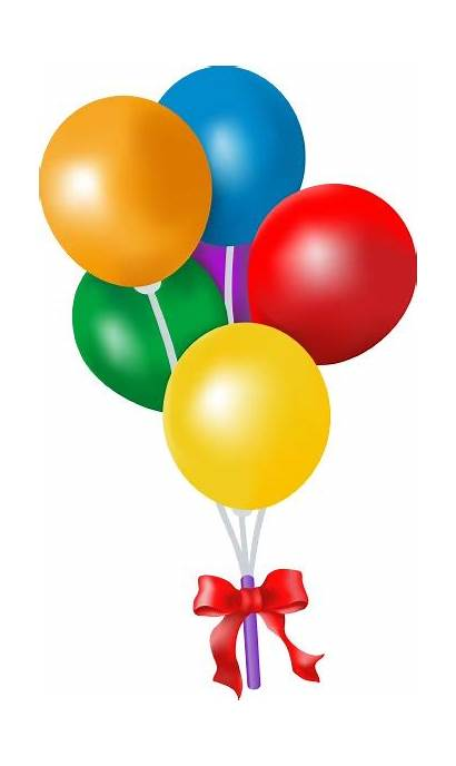 Clip Balloons Birthday Balloon Party Colorful Celebration