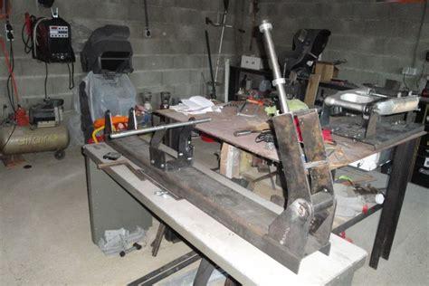 fabriquer un bras oscillant moto