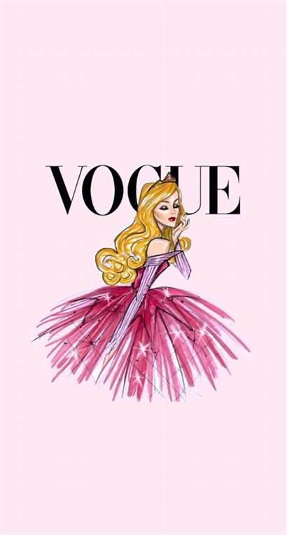 Disney Vogue Iphone Aurora Backgrounds Wallpapers Unique