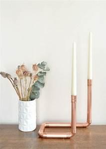 Deco Cuivre Rose : 50 id es pour int grer le tube de cuivre dans votre d cor ~ Zukunftsfamilie.com Idées de Décoration