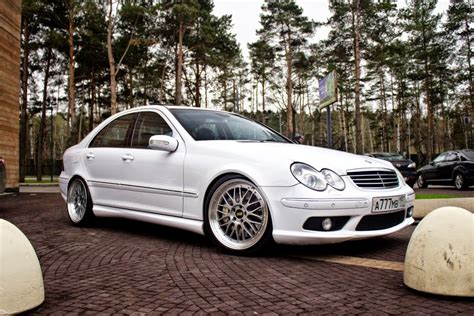 Piese de tuning pentru masina ta. Mercedes-Benz W203 C55 AMG on BBS wheels | BENZTUNING
