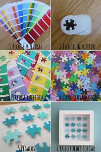 130 best images about Crafts using old jigsaw puzzle ...