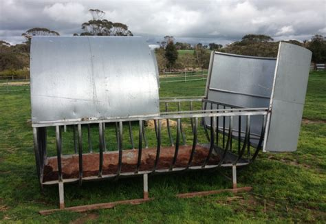 hay ring feeder roll hay ring racks for x2 livestock equipment