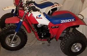 Honda 200x  My Last Three Wheeler