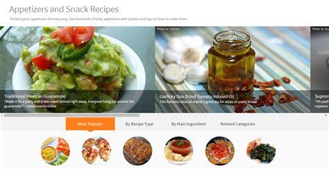 recipe categories allrecipes