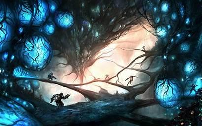 Digital Wallpapers Drawings Drawing Fantasy Widescreen