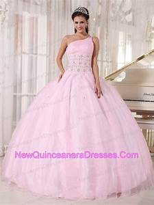 quinceanera dresses light pink and white