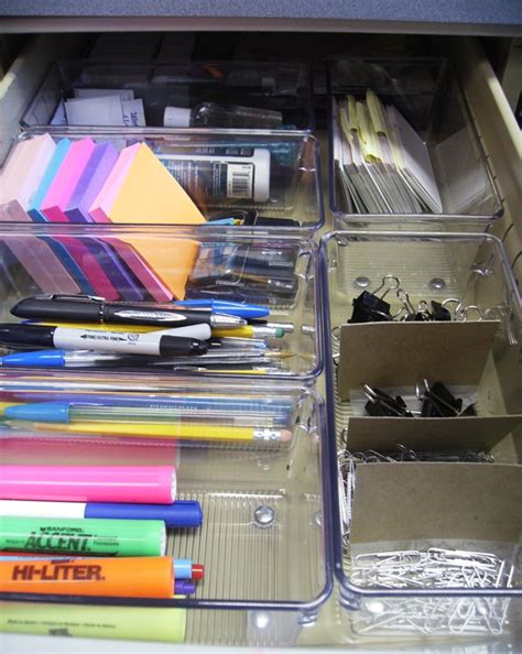 desk organization tips former junk drawer is now organized morning s light 14683