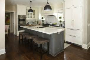 gray kitchen island 2 tone kitchen transitional kitchen terracotta properties